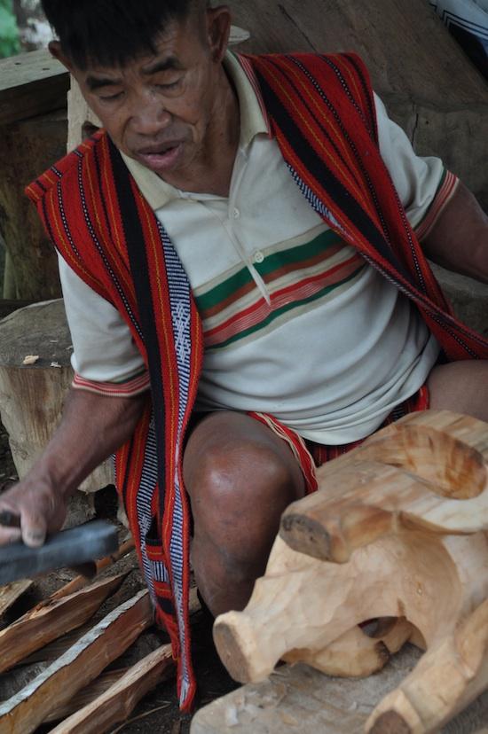 Banaue Wood Carver