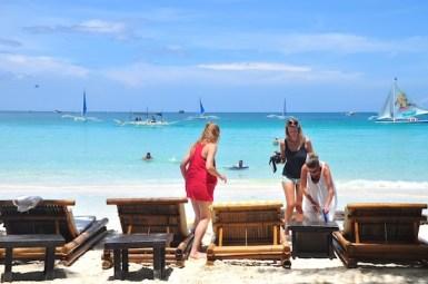 Beach Beds in Boracay