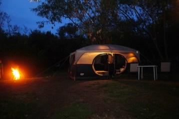 Glamping at Sumilon Bluewater Island Resort photo courtesy of Sumilon