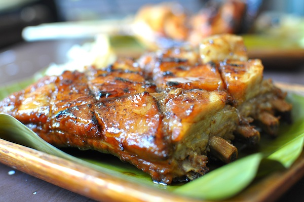 Grilled Pork Spare Ribs