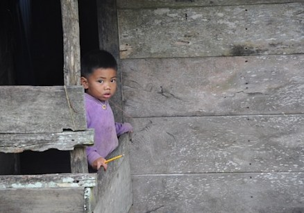 Ifugao Kid in Hungduan