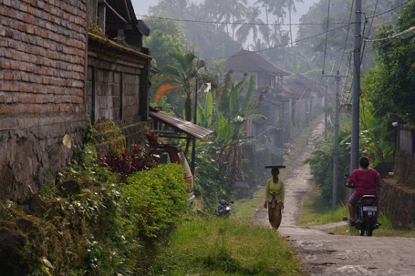 Local Village in Bali