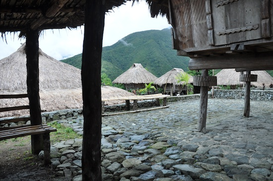 Native Huts at Hungduan Municipal Complex