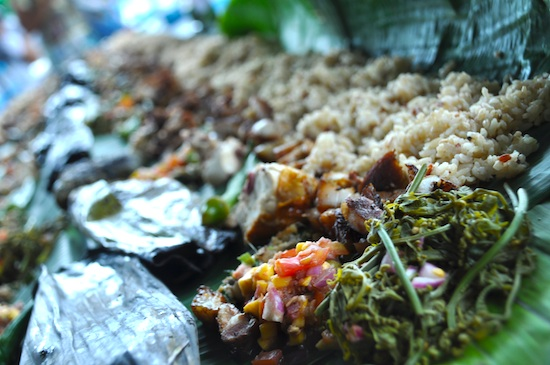 Boodle Fight Lunch
