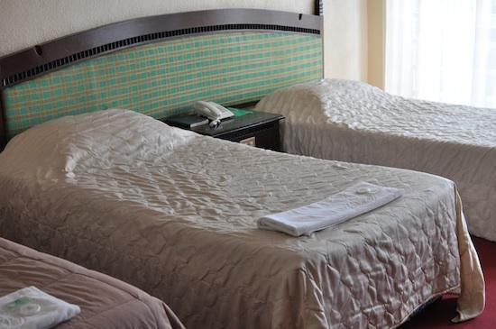 Comfortable Bed at Banaue Hotel