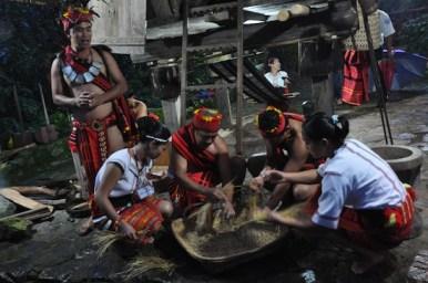 Cultural Presentation at the Banaue Hotel