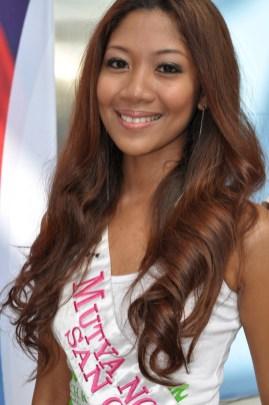 Mutya ng Pilipinas 2012 Candidates at the 2012 Philippine Travel Mart