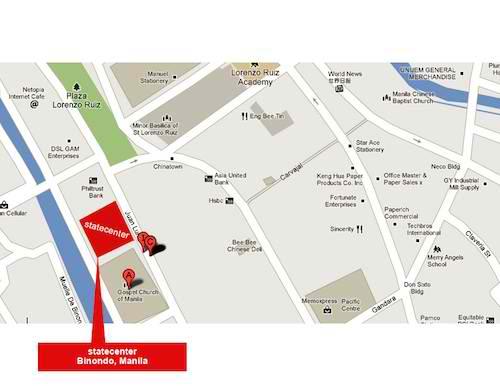 Binondo Bodega Sale 2012 Map