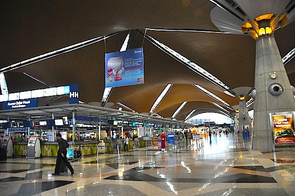 Inside Kuala Lumpur International Airport