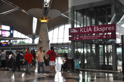 Lift to KLIA Express