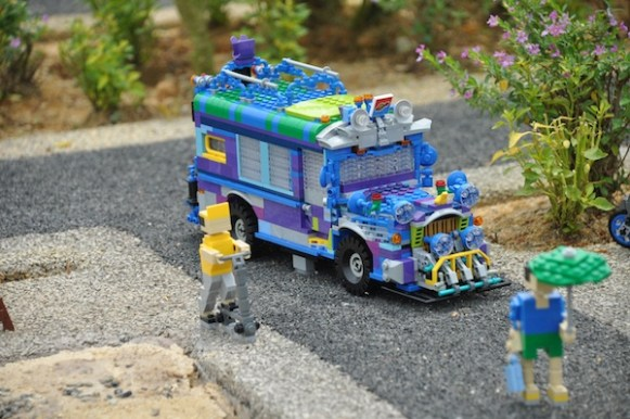 Philippine Jeepney in Legoland's Miniland