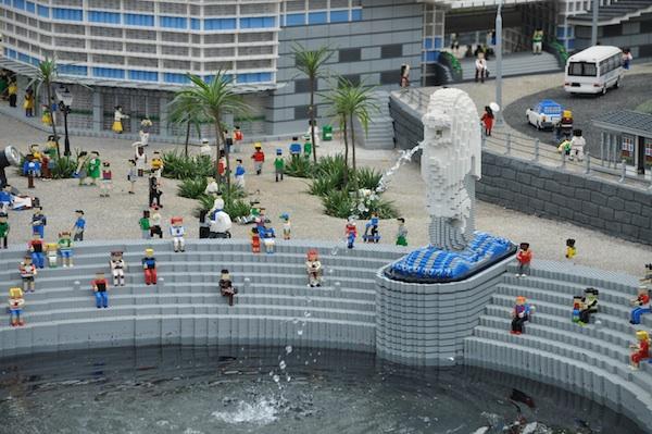 Singapore's Merlion Park