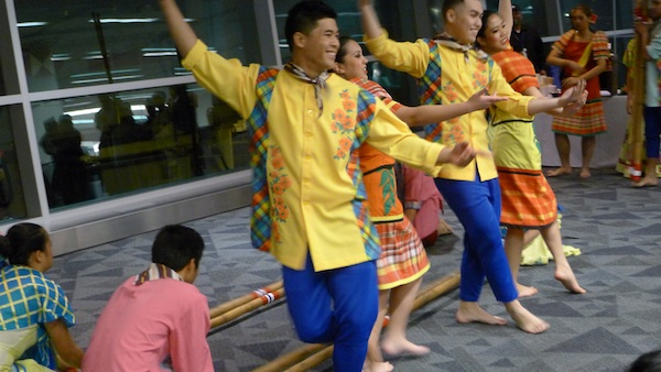 Cultural Dance performed by local Pinoy Community