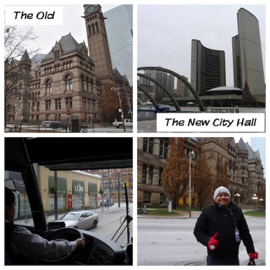 The Old and New Toronto City Hall