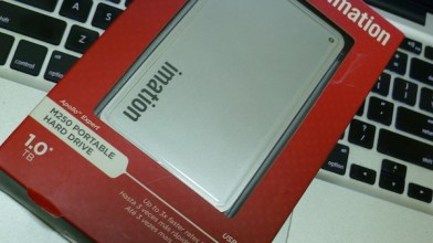 1 TB Imation Portable Hard Drive