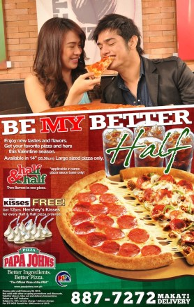 Celebrate Valentines Day at Papa John's