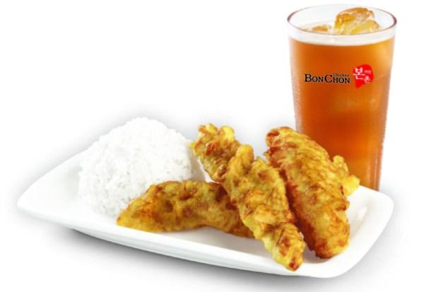 BonChon Crispy Fish Ricebox