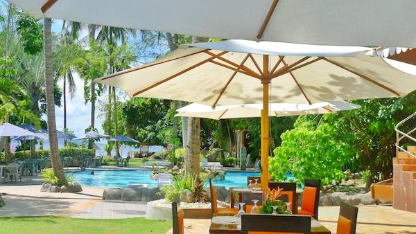 Dakak Beach Resort Poolside