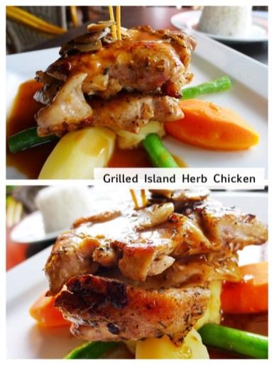 Grilled Island Herb Chicken