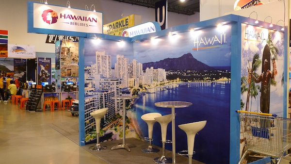 Hawaiian Airlines Booth