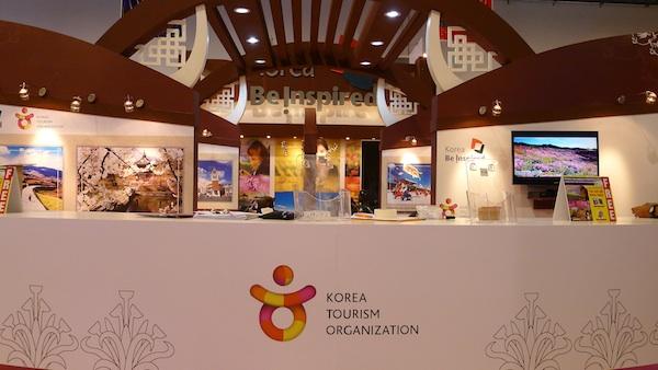 Korean Tourism Organization Booth
