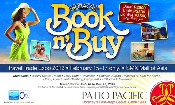 Patio Pacific Boracay Promo