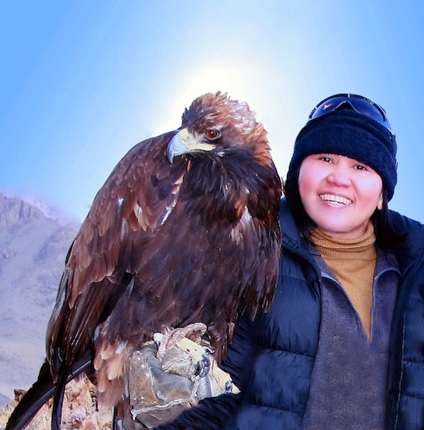 Hunting with golden eagles in Mongolia