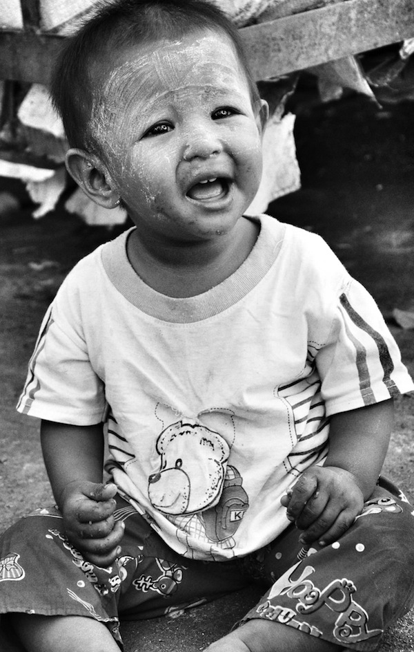 Burmese Kid in Yangon