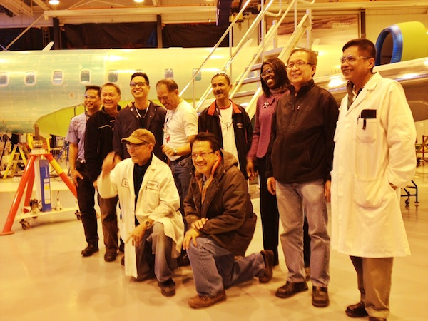 Filipino Engineers working for Bombardier Aerospace