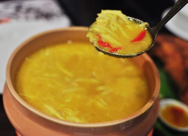 Sopa de Moriones