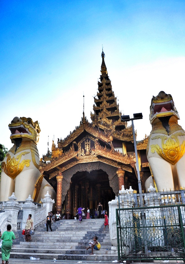 Entrance to the Shwedagon