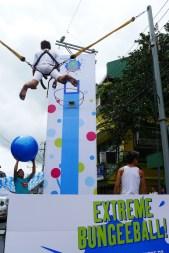 Extreme BungeeBall in Pahiyas Festival 2013