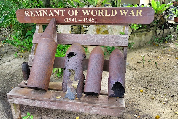 Remnant of World War II