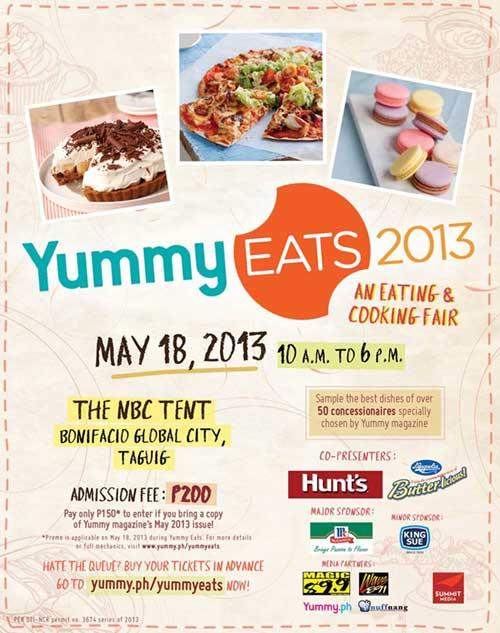 Yummy Eats 2013