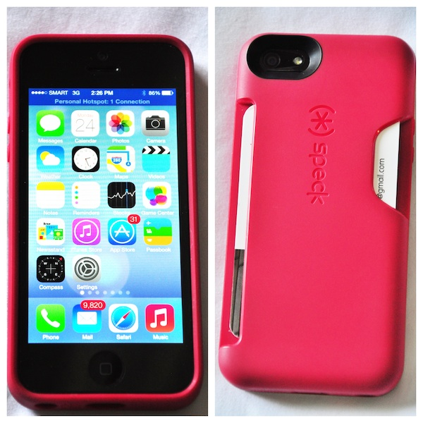 Speck smartflex card iphone 5 case review travel gear reviews an iphone case with business card holder colourmoves