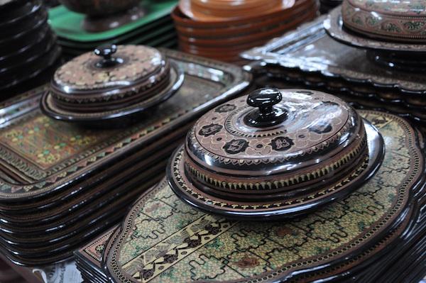 Burmese Design of Lacquerwares