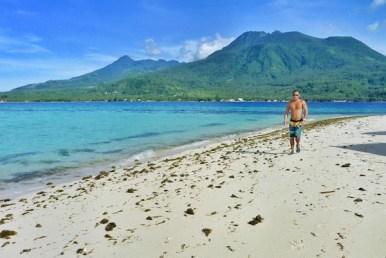 James Journeying around the island