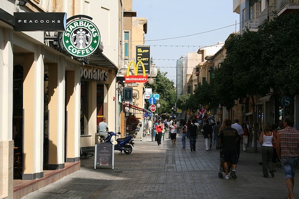 Cyprus Travel Ledra Street in Cyprus