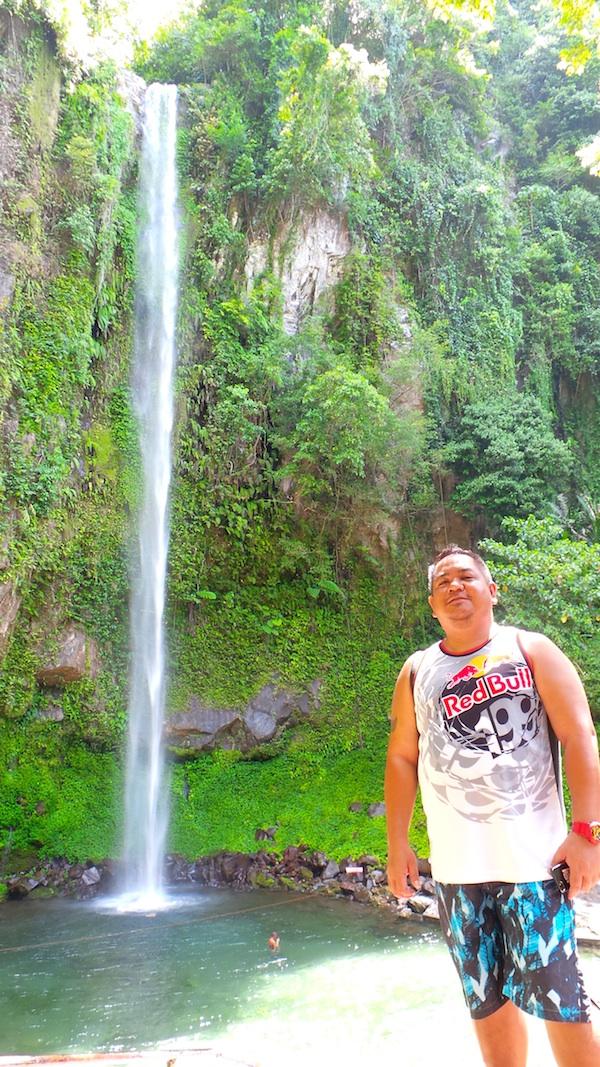Melo in Katibawasan Falls