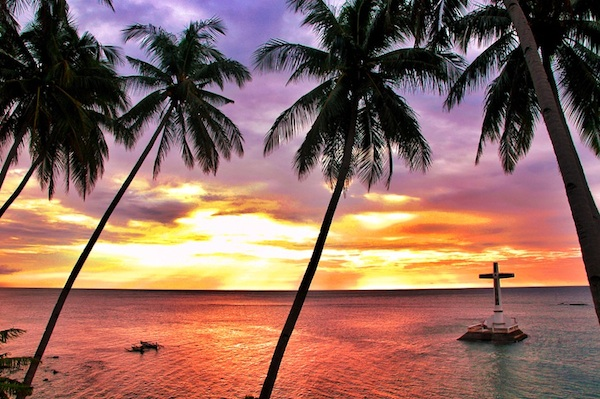 Sunset at Sunken Cemetery