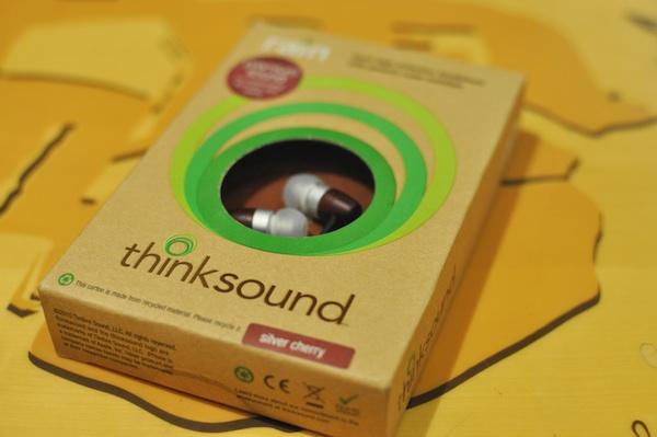 Thinksound Rain Eco-friendly in-ear headphones