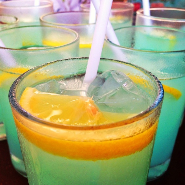 Blue Lemonade - Avenue Hotels Welcome Drink