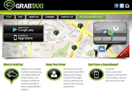 GrabTaxi Call a Taxi Service