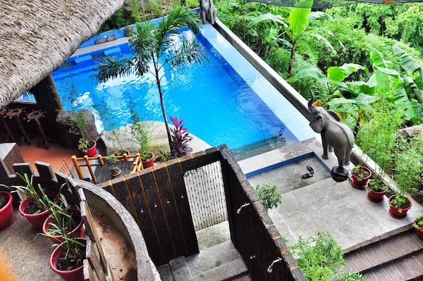 Infinity Pool at Budha Lounge