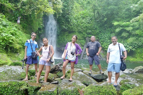 Travel Bloggers in Malabsay Falls