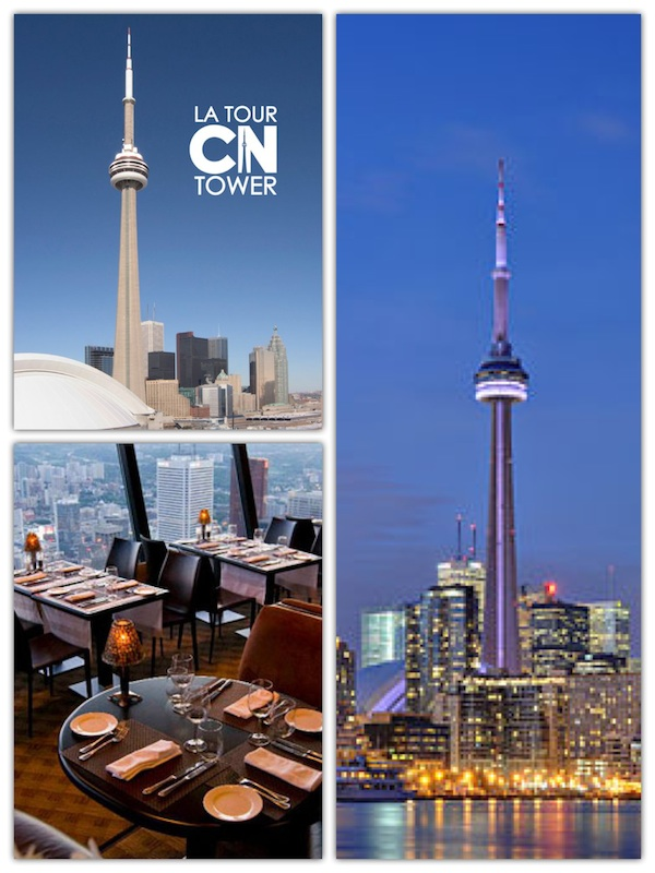 Famous CN Tower in Toronto
