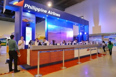 Philippine Airlines Booth