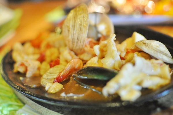 Sizzling Seafood