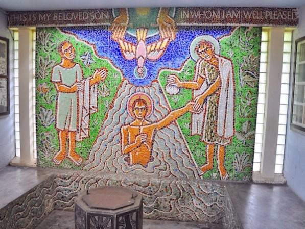 The Baptismal Room