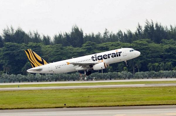 Tigerair Plane